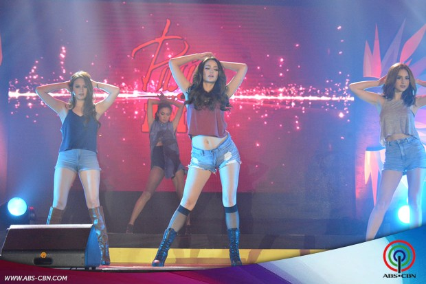LOOK: Pasion de Amor stars in sizzling hot dance number at the ABS-CBN Trade Event