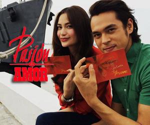 BEHIND-THE-SCENES: Pasion de Amor stars' fun Christmas Station ID shoot