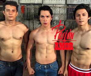 Hotness alert: Pasion de Amor's Oscar, Juan and Franco in action